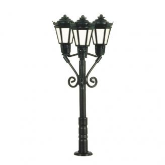 Lampadaire de parc à 3 lumières LED 37mm-N 1/160-VIESSMANN 6477