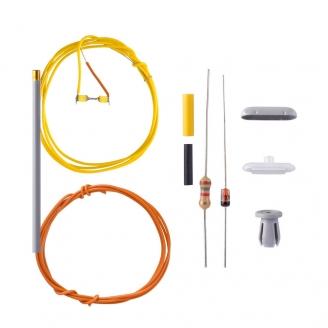 Kit Lampadaire double moderne LED 36mm-N 1/160-VIESSMANN 6626