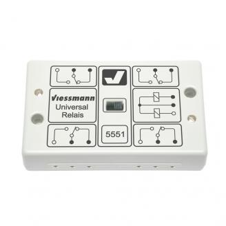 2 relais bistables indépendants-Toutes échelles-VIESSMANN 5551