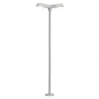 Lampadaire moderne double lumières LED 55mm-N 1/160-VIESSMANN 6498