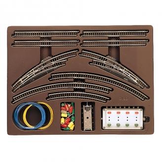 Coffret de rails T1 avec aiguillages-Z 1/220-MARKLIN 8192
