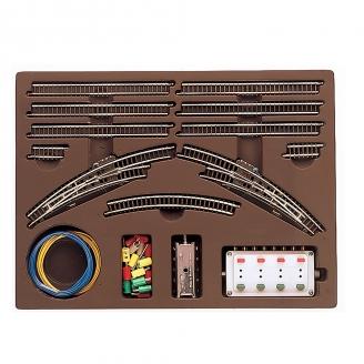 Coffret de rails T2 avec aiguillages-Z 1/220-MARKLIN 8193
