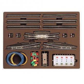 Coffret de rails T3 avec aiguillages et TJD-Z 1/220-MARKLIN 8194