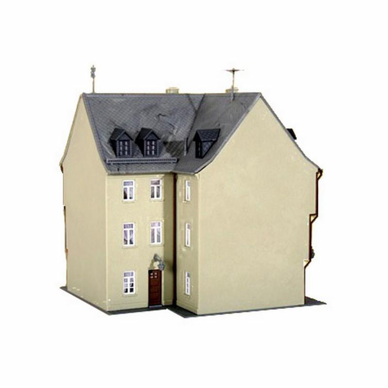 maison de ville ho kibri 38904 modelisme ferroviaire et diorama neuf kibri. Black Bedroom Furniture Sets. Home Design Ideas