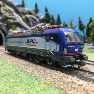 Locomotive 193 491-8 HUPAC Ep VI digital son 3R-HO 1/87-ROCO 79915