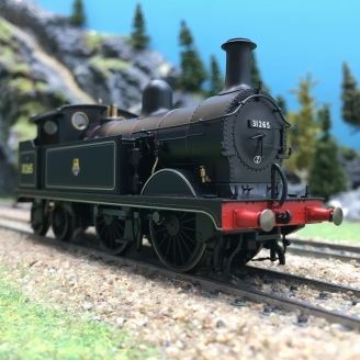Locomotive Early BR 0-4-4T 31265 Ep IV-00 1/76-HORNBY R3631