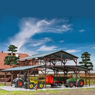 Grange agricole-HO-1/87-KIBRI 39095
