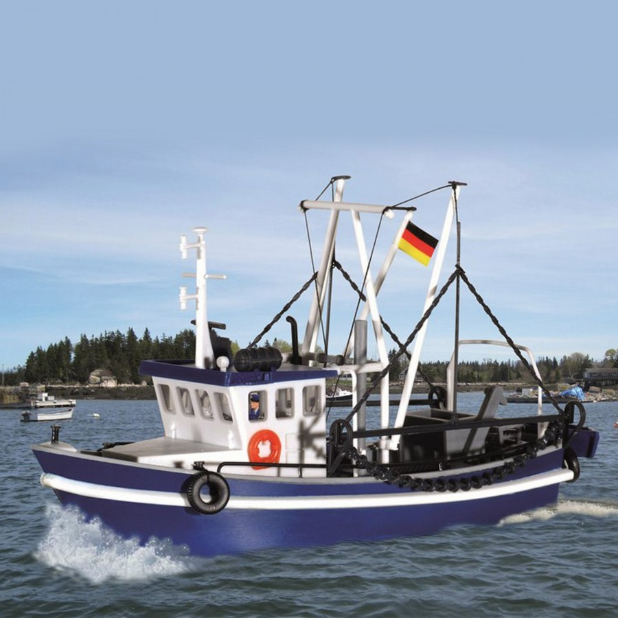 Bateau de pêche-HO-1/87-KIBRI 39161