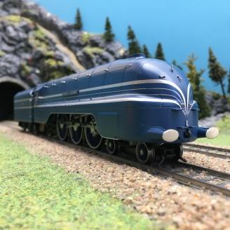 Locomotive LMS Princess Alexandra 4-6-2 6224 Ep III-00 1/76-HORNBY R3715