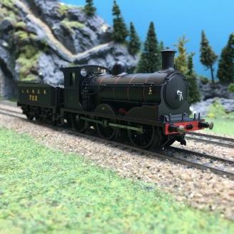 Locomotive LNER J36 0-6-0 722 Ep III-00 1/76-HORNBY R3621