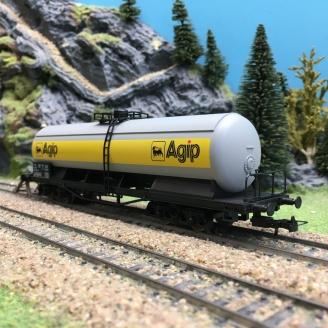 "Wagon Citerne AGIP Ep IV SNCF ""Junior""-HO 1/87-JOUEF HJ5702"