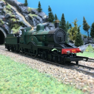Locomotive GWR Class 3031 Dean Single 4-2-2 Achilles Ep II-00 1/76-HORNBY R3759