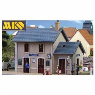 Gare de Villiers-HO 1/87-MKD 8017