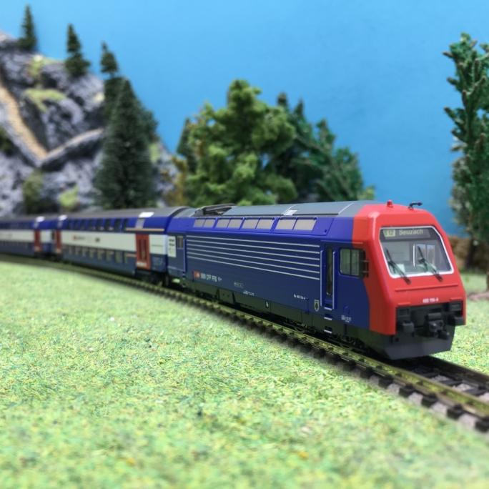 Rame 4 éléments Zürich S.Bahn SBB ZVV Ep VI-N 1/160-FLEISCHMANN 781902