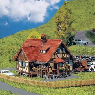 Maison rurale à colombages-N-1/160-FALLER  232340