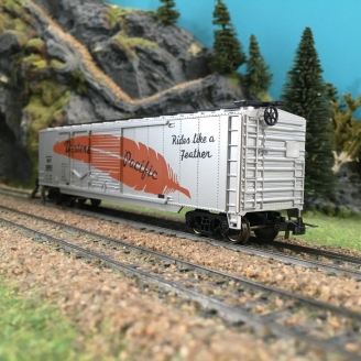 Wagon couvert Western Pacific-HO 1/87-MEHANO 17860 DEP24-089