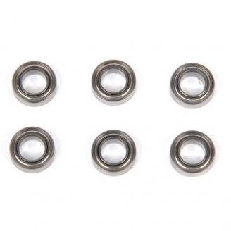 Roulements 5x9x3mm (x6) pour Pirate Puncher S -1/10 et 1/12-T2M T4948/30