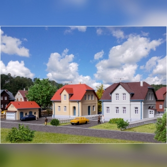 2 Grande Maisons + 1 Petite-Z 1/220-KIBRI 36827