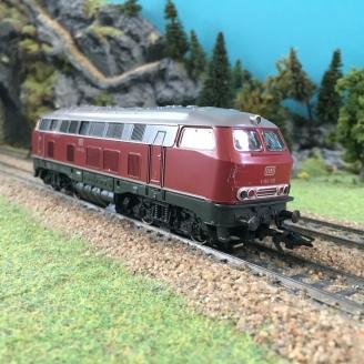 Locomotive V160 010 DB digital 3R-HO 1/87-MARKLIN 3675 DEP236-031