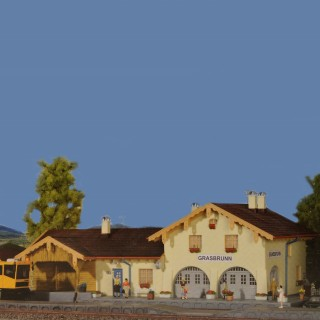 Gare de Village-HO-1/87-KIBRI 39388