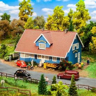 Boutique de village Suedois-HO 1/87-FALLER 130160
