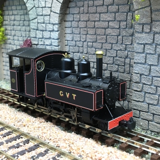Locomotive Baldwin Class 10-12-D Glyn Valley Tramway -OO 1/76-Bachmann 391-029
