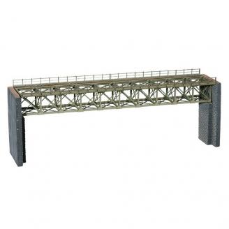 Pont en treillis d'acier-HO-1/87-NOCH 67020