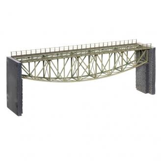 Pont Arche Inversée en treillis d'acier-HO-1/87-NOCH 67027