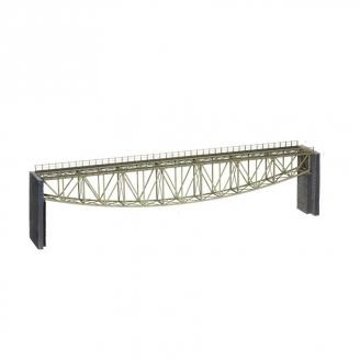 Long Pont Arche Inversée en treillis d'acier-HO-1/87-NOCH 67028