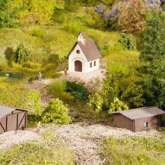 Set de 3 petites constructions-Z 1/220-NOCH 44315