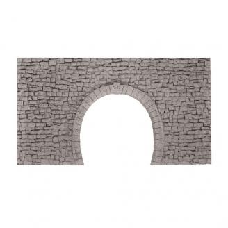 Porte de tunnel 2 voies-HOm HOe-1/87-NOCH 58027
