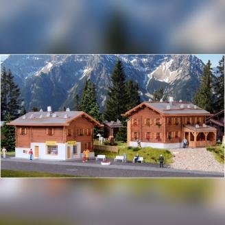 2 gîtes de Montagne-N 1/160-KIBRI 37030