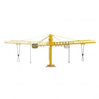 Grue de pour scierie ou chantier-HO 1/87-VIESSMANN 5145