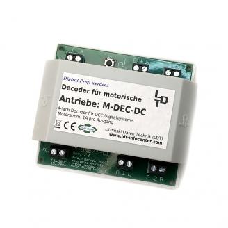Décodeur pour 4 aiguillages 2 fils de sortie  -M DEC DC -LDT 410413