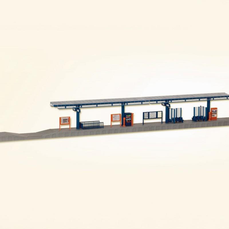 Quais de gare ho kibri 39556 modelisme ferroviaire diorama for Exterieur quai gare de l est