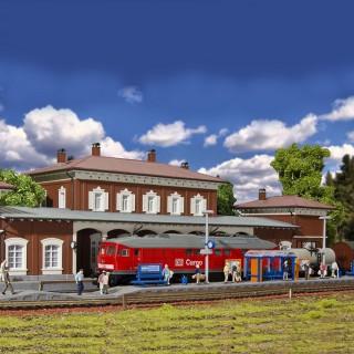 Quai de Gare ouvert-HO-1/87-KIBRI 39558