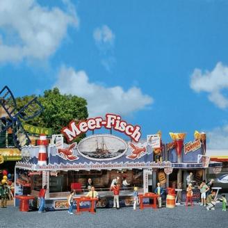 Stand de poissons - Fête Foraine-HO-1/87-FALLER 140445