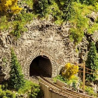 """Plaque Decorflex """"Entrées de tunnel""""-N 1/160-FALLER 272654"""
