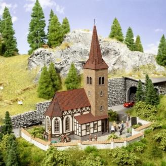 "Eglise ""St Georges"" sonorisée-N 1/160-NOCH 63906"