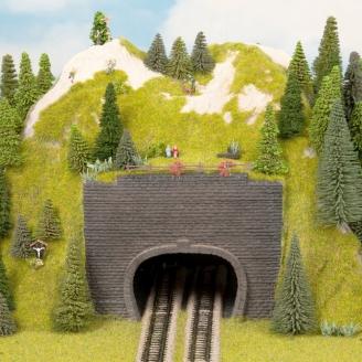 2 entrées de tunnel en mousse rigide-Z 1/220-NOCH 44800