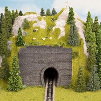 2 entrées de tunnel en mousse rigide-Z 1/220-NOCH 44790