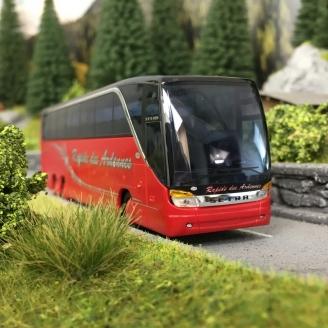 """Bus SETRA S 416 HDH """"Rapide des Ardennes""""-HO 1/87-AWM 73398"""