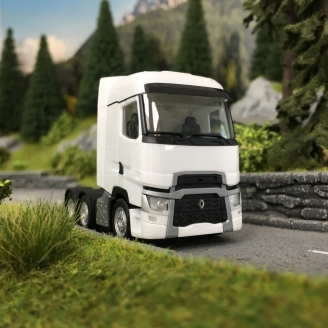 Camion Tracteur Renault T 6x2 Blanc-HO 1/87-HERPA 311588