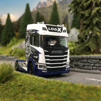 Scania Tracteur CR 20 LOG-X -HO-1/87-HERPA 111034
