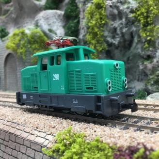 Locomotive EA 500 Ep IV-HO 1/87-MARKLIN 36509