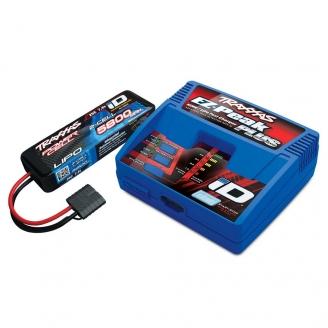 Pack Chargeur EZ-Peak Plus ID + Accu 2S Li-Po 7.4 V 5800 mAh-TRAXXAS 2992G