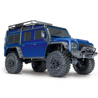 Land Rover Defender TRX-4 RTR 4WD Bleu-1/10-TRAXXAS TRX82056-4
