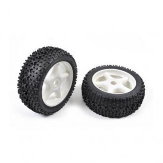 2 roues TT X-Pattern / Hexa 17 mm - 1/8 - T2M T900103