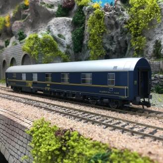 """Voiture Lits T2 TEN """"80 ans"""" SNCF Ep VI-HO 1/87-JOUEF HJ4130"""