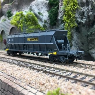 Wagon trémie houiller EF 60 SIMOTRA SNCF Ep IV-HO 1/87-JOUEF HJ6182
